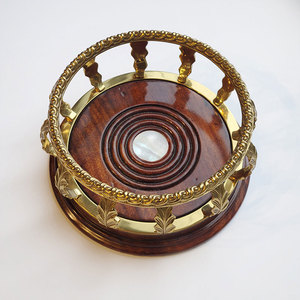 WOODEN WINE COASTER