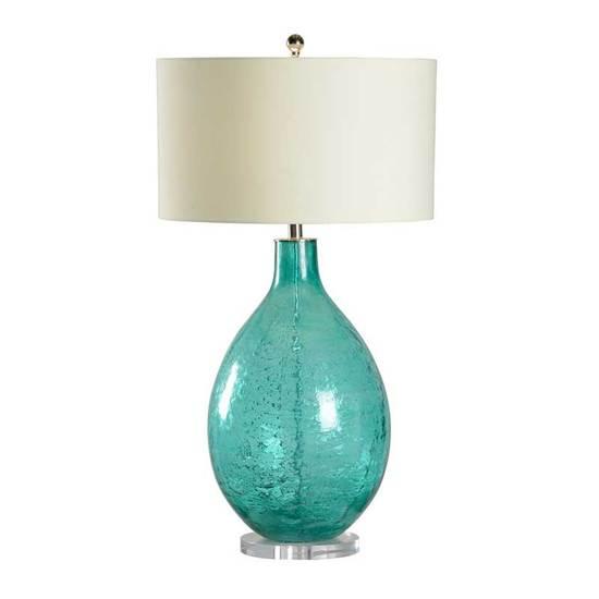 CRINKLE TEXTURE BOTTLE LAMP