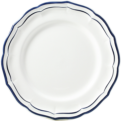 DINNER PLATE INDIGO - SINGLE DISH