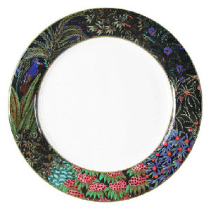 LARGE DINNER PLATES JARDIN - SET OF FOUR