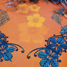 ARMONIA MANDARINE TABLECLOTH DETAIL