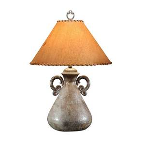 BRASS CAST BOTTLE TABLE LAMP