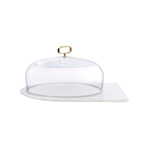 CUPOLA CAKE PLATTER WITH DOME