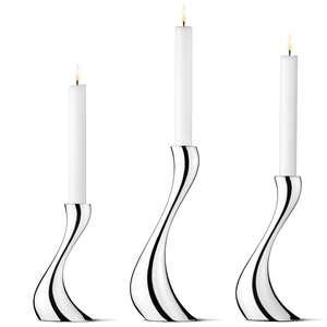 COBRA CANDLEHOLDERS - SET OF THREE
