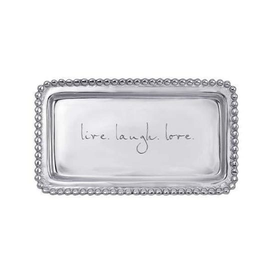 LIVE LAUGH LOVE SMALL TRAY