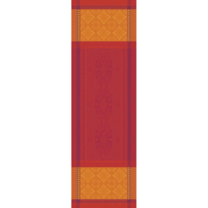 "PALERME ORANGE SANGUINE TABLE RUNNER | 22""x69"""