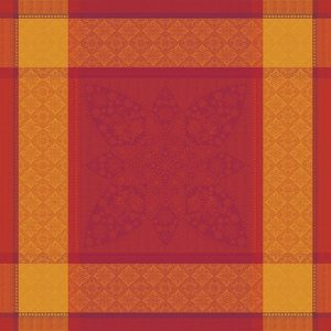 "PALERME ORANGE SANGUINE NAPKIN | 22""x22"""