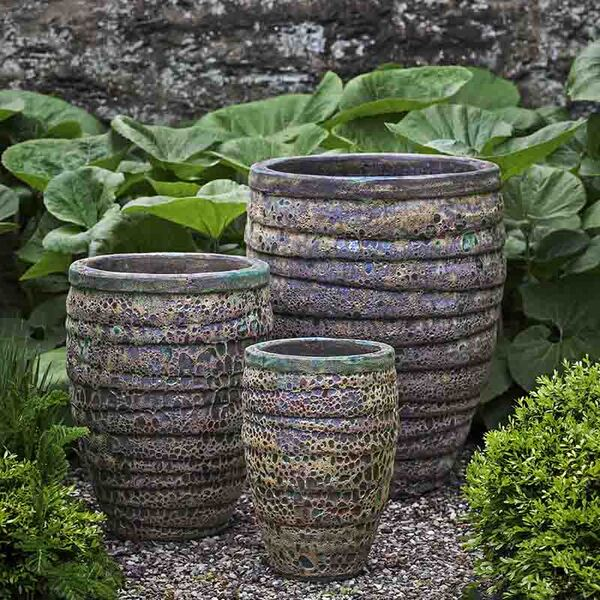 Set of 3 Green Planters