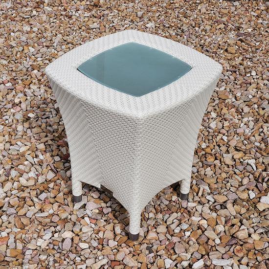 AMARI GLASS SIDE TABLE