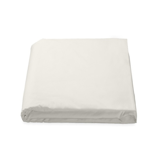 LUCA TWIN FITTED SHEET - IVORY