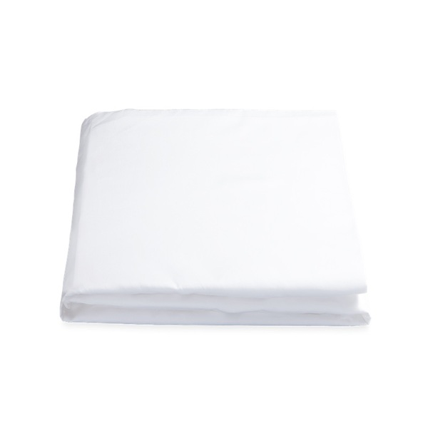 MILANO QUEEN FITTED SHEET - WHITE