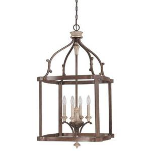 FRENCH OAK FOYER LIGHT