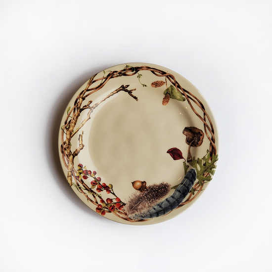 FOREST WALK PARTY PLATE