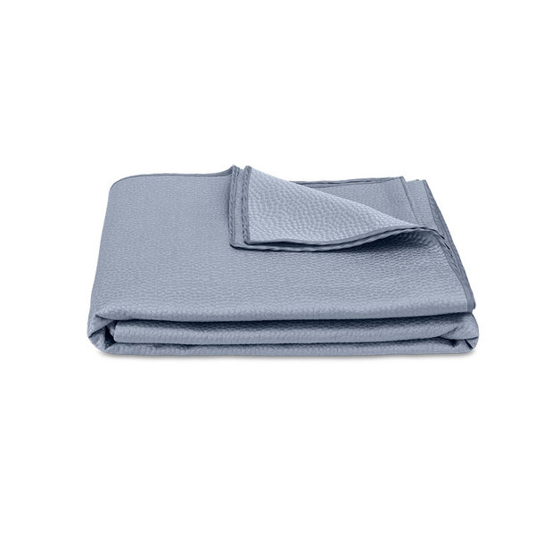 EDEN KING COVERLET - BLUE