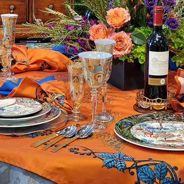 Virtual Tabletop Event | Exotic Sunset Table
