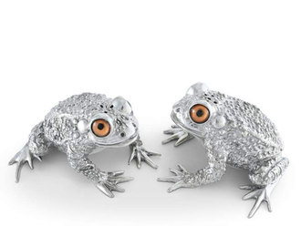 SALT & PEPPER TOAD SHAKERS