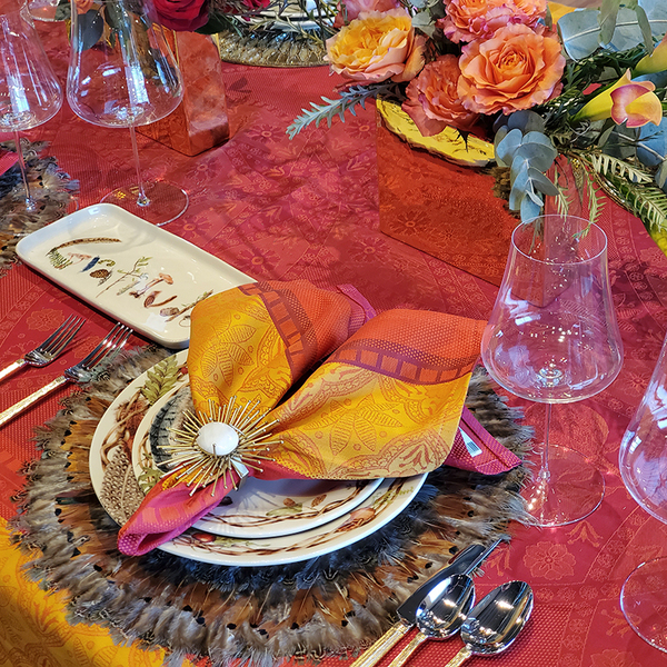 Gratitude Table Placesetting