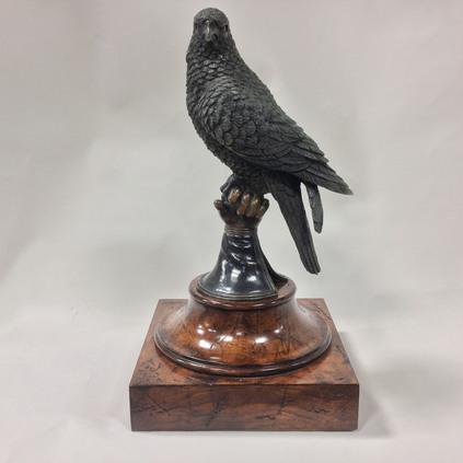 Brass falcon