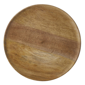 DUKO ROUND BROWN PLATE | 15.75""