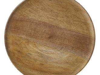 "DUKO ROUND BROWN PLATE | 15.75"""