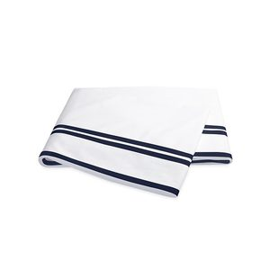 MERIDIAN QUEEN FLAT SHEET - NAVY