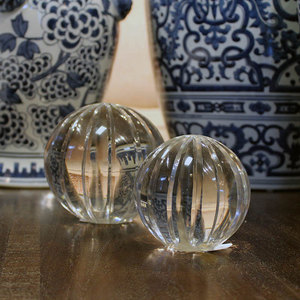 GLASS PAPERWEIGHT - SMALL