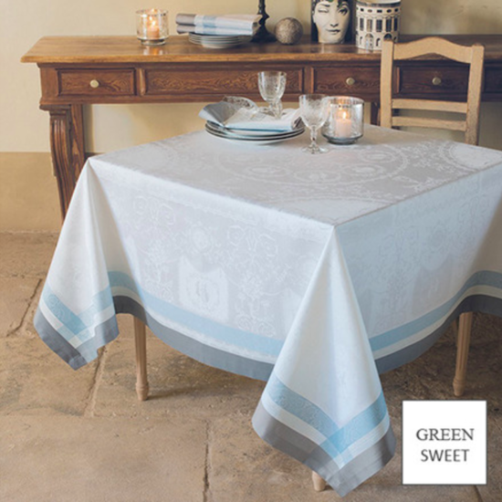 """Bagatelle Soie Tablecloth 68""""x99"""""""