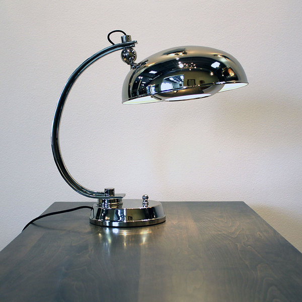 STEFANO TASK LAMP IN NICKEL