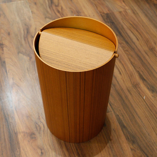 WASTE BASKET WITH LID - LARGE
