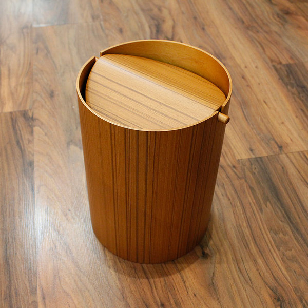 WASTE BASKET WITH LID - SMALL