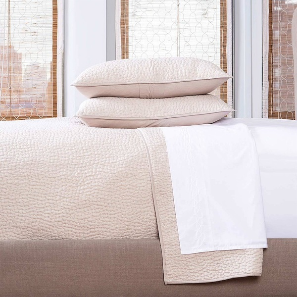 DYED SAND COVERLET SET - KING
