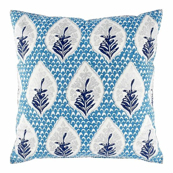 LUMAH PEACOCK EURO PILLOW