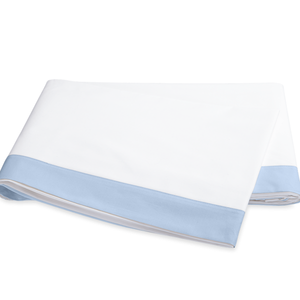 OBERLIN KING FLAT SHEET - SKY
