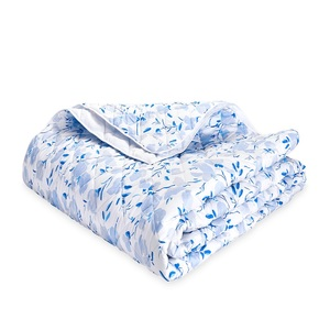 ALEXANDRA QUILTED KING SHAM - SKY