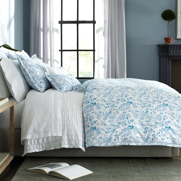 Quilted King Sham - Sky