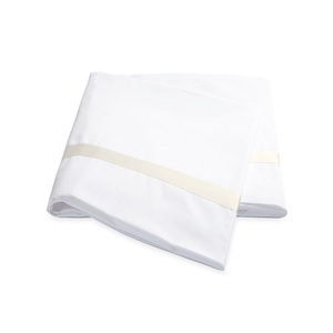 LOWELL QUEEN FLAT SHEET - IVORY