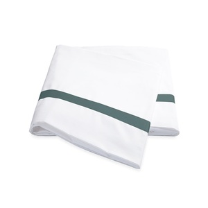 LOWELL QUEEN FLAT SHEET - JADE