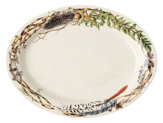 FOREST WALK SMALL OVAL PLATTER