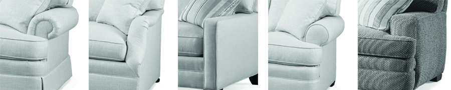 sofas with different style arms