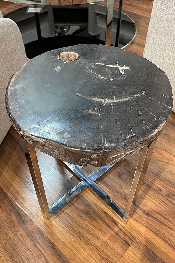 Petrified Wood, Accent Table