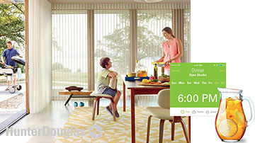 Hunter Douglas Shade Scheduling